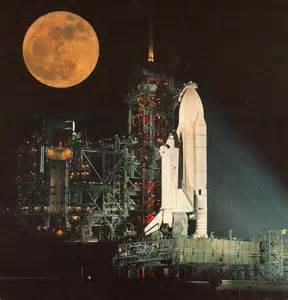 Columbia Space Shuttle External Fuel Tank