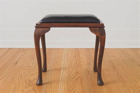 leather vanity stool black leather vanity stool homestead seattle