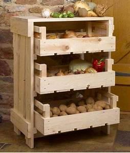 Rangement Fruits Et Légumes : caisse l gumes bricolage range ~ Melissatoandfro.com Idées de Décoration