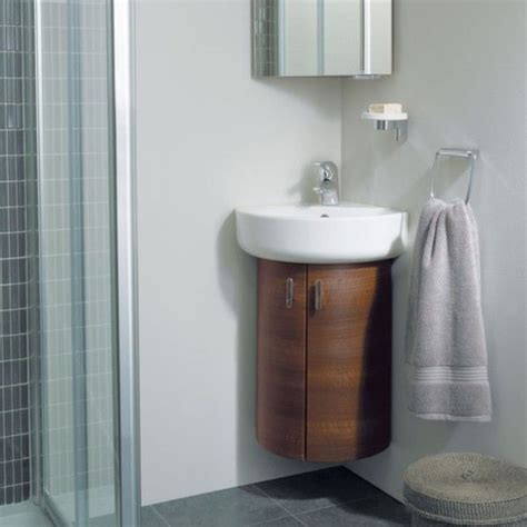 fantastic corner bathroom sink vanity units  delta