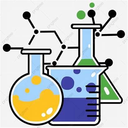 Chemical Beaker Illustration Instrument Cartoon Clipart Psd