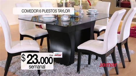 comercial muebles jamar comedor ptos taylor youtube
