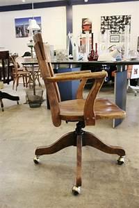 Chaise De Bureau En Bois : la chaise du bureau en bois r tro moderne ~ Mglfilm.com Idées de Décoration