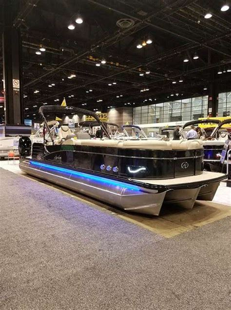 Pontoon Boats For Sale In Fox Lake Il 2017 avalon pontoons tri 300hp fox lake il for
