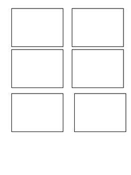 blank flashcard template   behavior savior tpt