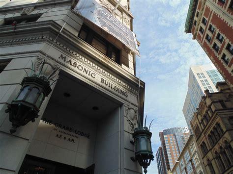 bostons secretive grand masonic lodge bostoncom