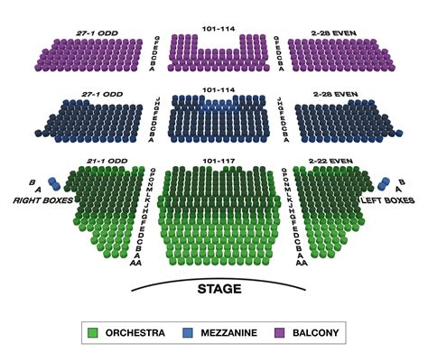 longacre theatre large broadway seating charts broadwayworldcom