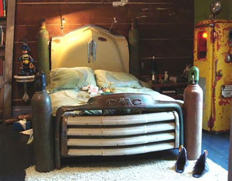 Cars Repurposed As Beds by 23 Awesome Diys Made From Upcycled Car Parts