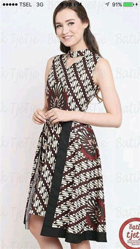 batik dress pakaian batik dress batik fashion model