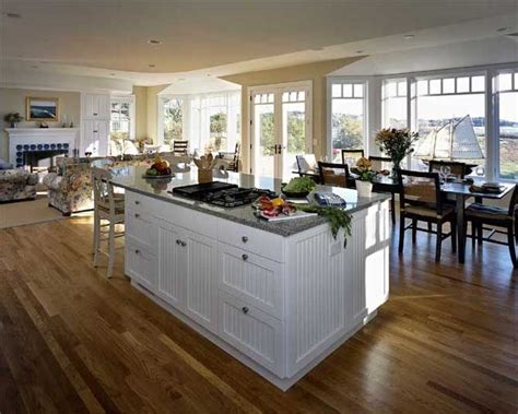 one house plans with large kitchens 10 images about open plan country homes on