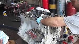 Mercedes Benz Om 442 A Engine Crankshaft Assembly Part 1