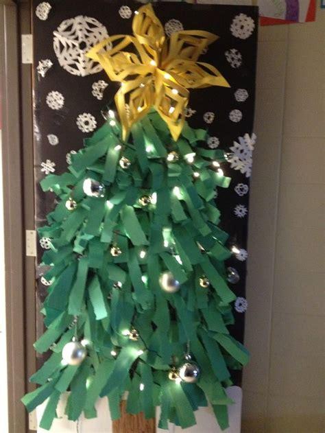 Decorating Ideas For Tree by Tree Door Decoration Diy Door