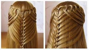 Coiffure Tresse Facile Cheveux Mi Long : coiffure avec tresse belle coiffure facile faire ~ Melissatoandfro.com Idées de Décoration