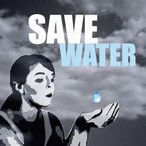 save water slogan poster | Environmental Slogans ...