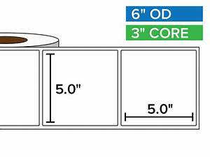 rectangular labels matte bopp poly 5 x 5 inches 3 With 5 x 6 labels
