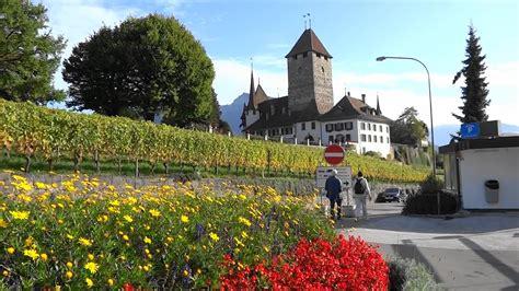 Lake Thun Spiez City Tour Switzerland Suiza Youtube