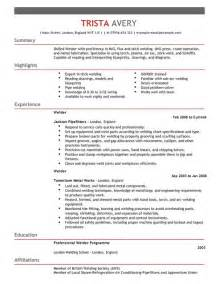 Top Resume Templates Free Welder Cv Exle For Construction Livecareer