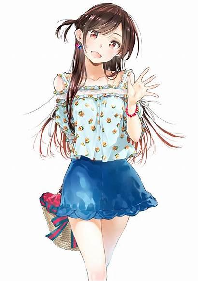Chizuru Girlfriend Kanojo Okarishimasu Mizuhara Anime Ichinose