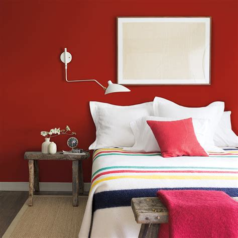 bedrooms  red accents intentionaldesignscom
