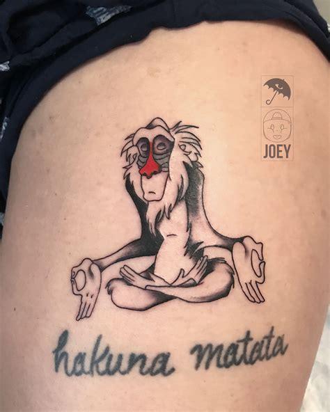 rafiki rafiki tattoo lion king lion king tattoo