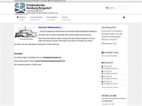 evangelisch freikirchliche gemeinde hamburg bergedorf