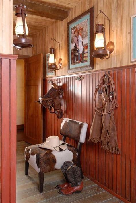 western home decorating  saddles