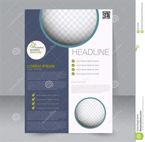 flyer template business brochure editable  poster