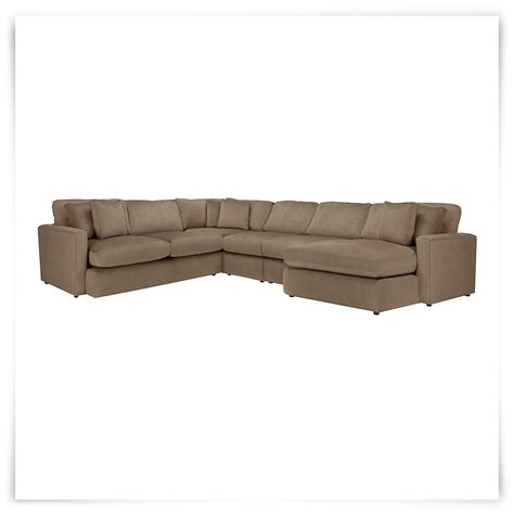 chaises taupe city furniture tara2 dk taupe micro right chaise sect