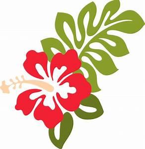 Red Hibiscus Clip Art at Clker.com - vector clip art ...