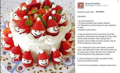 strawberry snowman cake decorations recipe book