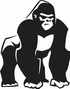 Gorilla Clip Art, Vector Images & Illustrations - iStock