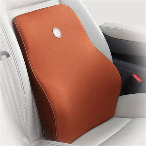 backrest cushion for car seat lumbar support posture viscoelastic
