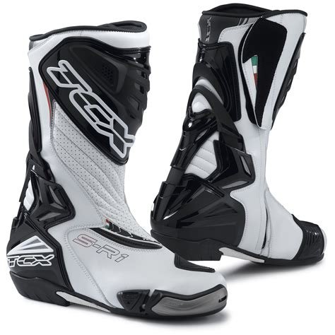 moto racing boots tcx s r1 leather motorcycle motorbik sports racing boots