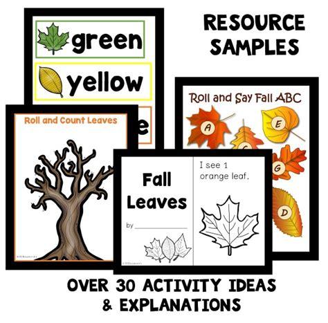 preschool fall leaf theme activities fantastic 642 | Resource Samples Leaves