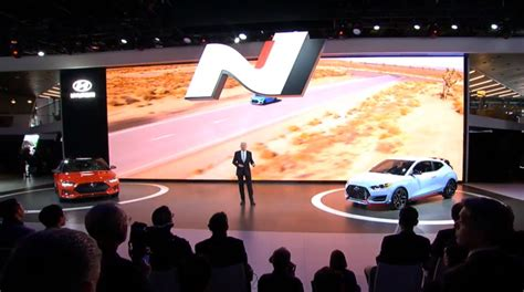 Hyundai Surprises Detroit With N Performance Brand Arrival