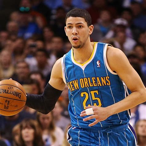 The latest stats, facts, news and notes on austin rivers of the denver Austin Rivers Talks Through Early Struggles of Rookie Season with Hornets   Bleacher Report