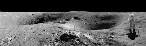 Stunning Moon Landscape From Apollo 16 Mission Space