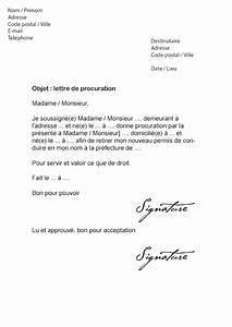 Quel Papier Faut Il Pour Vendre Une Voiture : lettre de procuration permis de conduire mod le de lettre ~ Gottalentnigeria.com Avis de Voitures