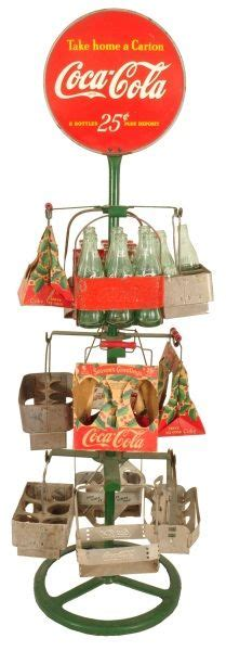 coca cola christmas tree carrier rack