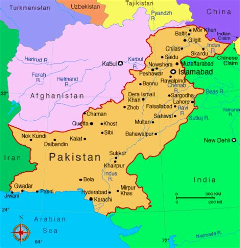 maps  pakistan  cities pakistan coolyar forums