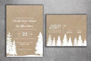 winter wedding invitations snow wedding invitation With wedding invitations for december