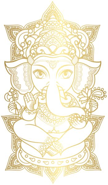 gold ganesha png clip art image gallery yopriceville high quality
