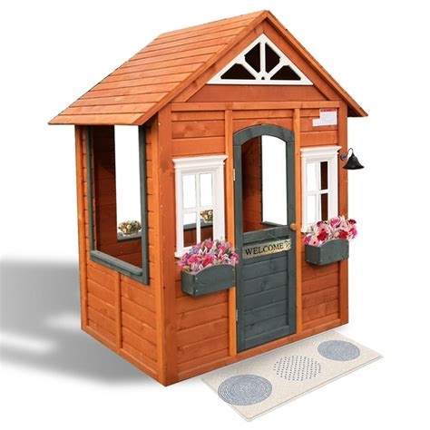 wooden cubby house play houses tents uk
