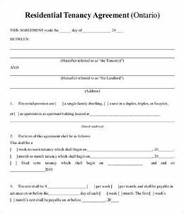 rental lease agreement ontario template private lease With rental lease agreement ontario template