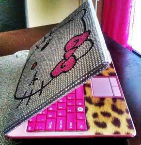 Hello Kitty Laptop Cover Bling