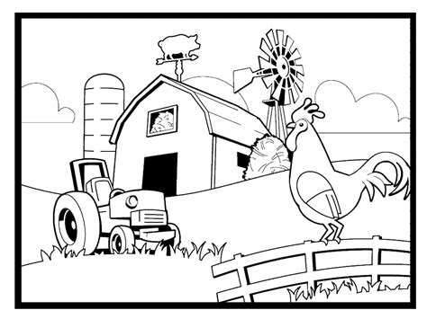 farm coloring pages for preschool farm coloring pages 360coloringpages 644