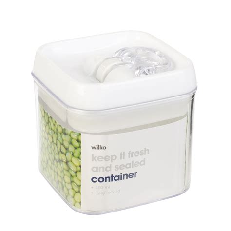 airtight kitchen storage containers wilkinson air tight easy clip lock seal plastic storage 4008