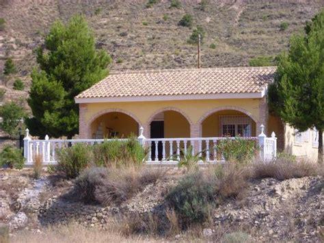 Haus In Spanien Fortuna (region Murciagrenze Andalusien