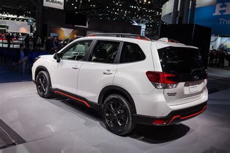 2019 Subaru Forester Debut by The 2019 Subaru Forester Enters Fifth Generation With