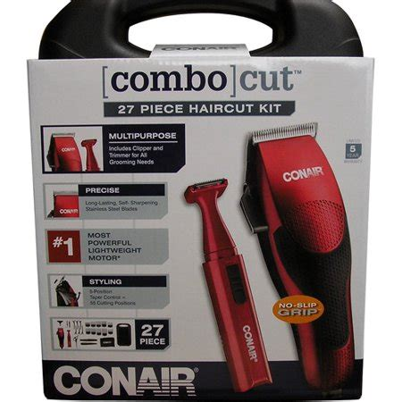 conair  piece comb cut haircut kit walmartcom